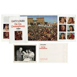 Theatre Brochure for the ''The Ten Commandments''