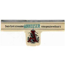 Anheuser-Busch St. Louis Exquisite Neck Label Mint Cond