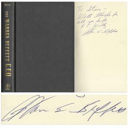 Warren Buffett Signed First Edition Book Inscribed