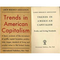 Trends in American Capitalism Book from 1948