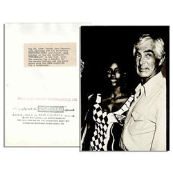 Original Ron Gallella Photo of John DeLorean & His Girl