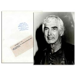 1985 Unpublished Photo of John DeLorean Beverly Hills