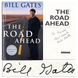 Bill Gates Signed First Edition of His Book w PSA/DNA