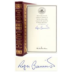 Roger Bannister Signed Deluxe Edition of Four Minute