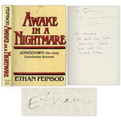 Jonestown Massacre Only Eyewitness Signed Book
