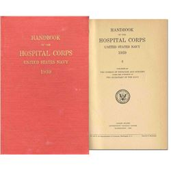 Handbook of the Hospital Corps, United States Navy 1939