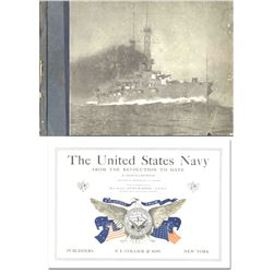United States Navy from the Revolution to Date 1916 Bk