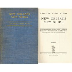 First Edition New Orleans City Guide 1938