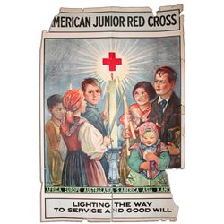 American Junior Red Cross 1925 Poster by R.M. Upjohn
