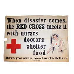 When Disaster Comes, the Red Cross Meets It Poster