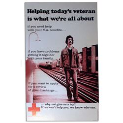 American Red Cross Poster for Vietnam War Veterans