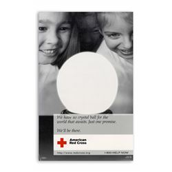 Original American Red Cross Poster Promising 2 be There