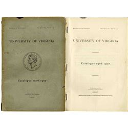 University Virginia Catalog 1906-1907