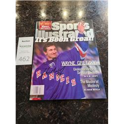 Sports Illustrated 1999 Wayne Gretzky Cat A