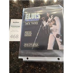 Elvis My Way Special Limited Edition Cat A