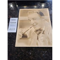 Signed Photo of Bing Crosby Cat A