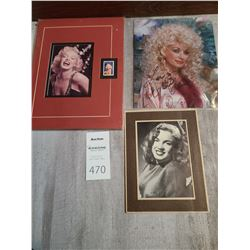Postage Stamp USA 32 of Marilyn Monroe & Picture Cat A