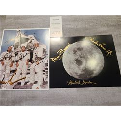 Personalized Autograph Apollo 12 Photo Cat A
