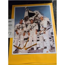 Apollo 12 autographed photo Cat A
