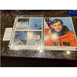Apollo 9 Earth -Orbital Mission signed byJames McDivitt.
