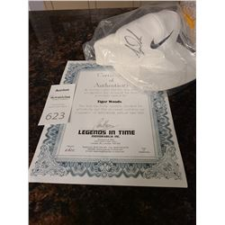 Signed Tiger Woods Nike Cap Cat A
