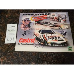 Signed by Jon Force Cat A