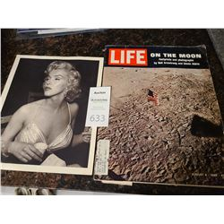 Life Magazine August 8, 1969 On The Moon Cat A