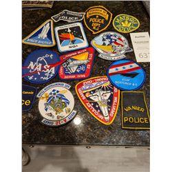 Assortment of Badges Cat A