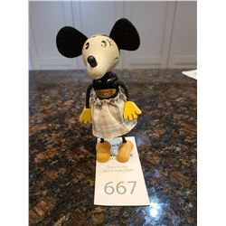 Disney Wooden Minnie Mouse from Schylling c1930's Cat A