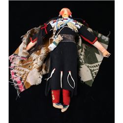 Sioux Beaded Hide & Clothe Doll c. 1890-1900