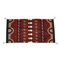"Navajo Eye Dazzler ""Nino"" Angora Wool Blanket"