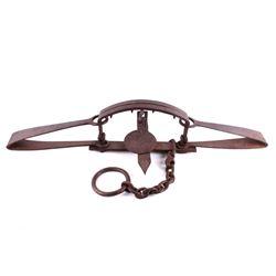 Newhouse 2nd Model Slick Pan No. 6 Trap 1863-1865