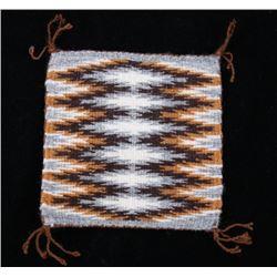 Small Navajo Eye Dazzler Salesman Sample Rug