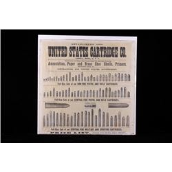 Original United States Cartridge Co. Price List