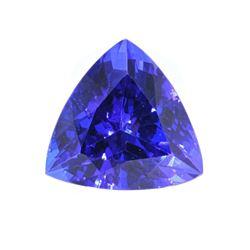 10.74 Tanzanite AAA+ Loose Stone w/ Papers