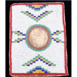 Blackfoot Beaded Picture Frame c. 1890