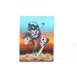 2020 Original Dau-Law-Taine Kiowa Painting