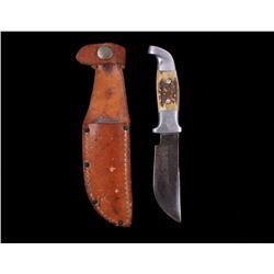 """RARE R.H. Ruana First Knife """"M"""" Stamped 1962-1983"""