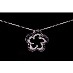 Black Diamond 18k Gold Midnight Star Necklace