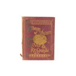 1886 W.H. Lawrence & Co. Album of Views Denver