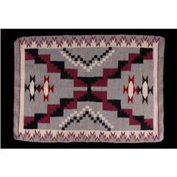 Navajo Teec Nos Pos Trading Post Wool Rug