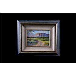 """Original Bill Shaddix """"Verde Valley"""" Oil Painting"""