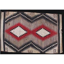 Navajo Old Crystal Wool Rug c. 1900
