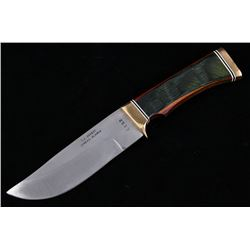 T.J. Sheehy Juneau Alaska Custom Hunting Knife