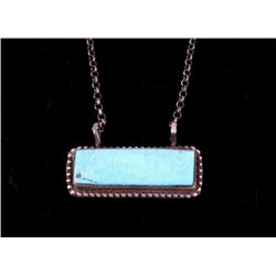 Navajo Tricia Smith Kingman Turquoise Necklace