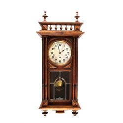 Paris, France Comptoir Cardinet Oak Wall Clock