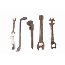 Collection of Ford Mechanic Wrenches C. 1920's