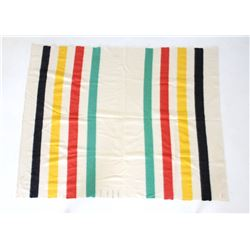 Hudson Bay Company Four Point Witney Wool Blanket