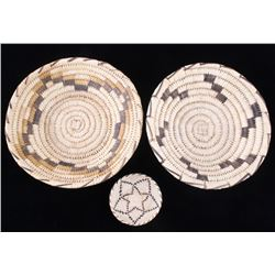 Papago Indian Hand Woven Baskets c.1950s