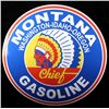 Image 2 : Montana Chief Gasoline Advertising Sign